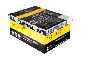 Tower W231 Multi Purpose Inkjet-Laser Labels - Box of 1000 Sheets