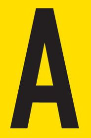 Tower Adhesive Letter Sign - Large A