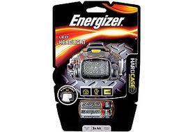 Energizer - PROHL3A Hard Case Pro Headlamp 4-LED Headlight incl. 3x AA