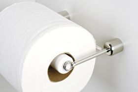 Steelcraft Toilet Roll Holder With Removable Shaft