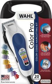 Wahl Easy Colour Comb Hair Clipper - Blue & White
