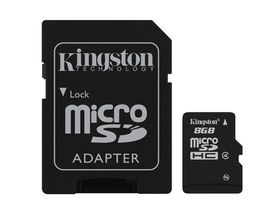 Kingston 8GB Micro SDHC - Class 4