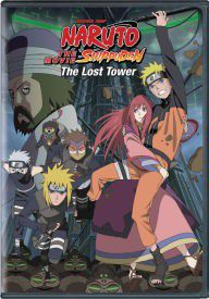 Naruto Shippuden The Movie:Lost Tower - (Region 1 Import DVD)
