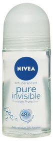 Nivea Pure Invisible Deodorant Roll On - 50ml