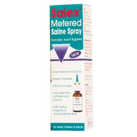 Salex Metered Saline Spray - 30ml