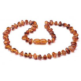 4aKid - Teething Necklace - Amber