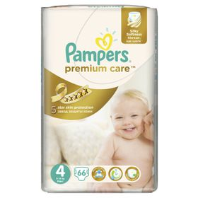 Pampers - Premium Care Nappies - Size 4 - Jumbo Pack