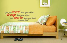 Fantastick - Christopher Robin Vinyl Wall Poetry Quote