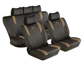 Stingray - Racing 11 Piece Car Seat Cover Set - Tan