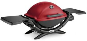 Weber - Q1200 Gas Grill - Maroon