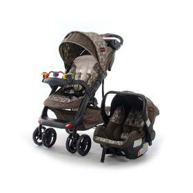 Chelino - Tech Rider Travel System - Brown Circles