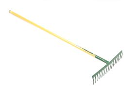 Lasher Tools - 16 Tooth All Steel Heavy Duty Rake