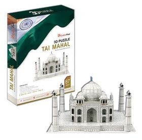 Cubic Fun Taj Mahal India - 87 Piece 3D Puzzle