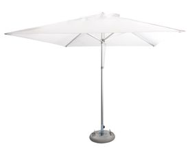 Cape Umbrellas - 2.5m Classic Line Mariner Square Umbrella -White