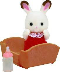 Sylvanian Family Chocolate Rabbit Baby