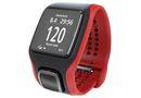 TomTom MultiSport Cardio GPS Watch - Red/Black