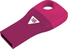 Emtec D300 Car Key USB 2.0 Flash Drive 16GB - Pink