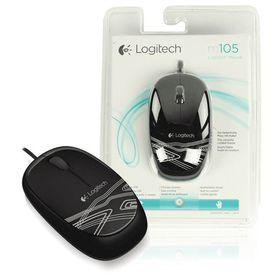 Logitech M105 Mouse - Black