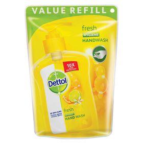 Dettol Hygiene Liquid Hand Wash Fresh Refill Pouch - 200ml