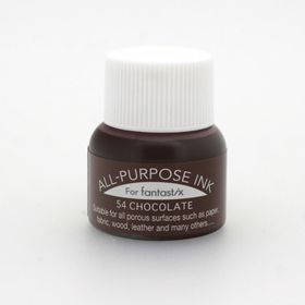 Tsukineko All Purpose Ink - Chocolate