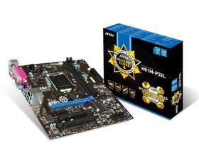 MSI Intel H81M-P32L M-ATX Motherboard