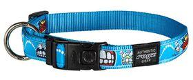 Rogz Fancy Dress Extra Large 25mm Armed Response Dog Collar - Comic Design