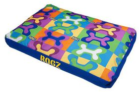 Rogz Flat Spice Pod Extra Large 129cm x 86cm x 12cm - Pop Art Design
