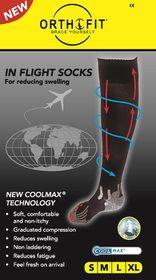 Orthofit Inflight Socks - Black - Extra Large