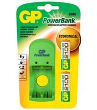GP Batteries AA 2100 mAh NiMH battery S360 Charger Bundle