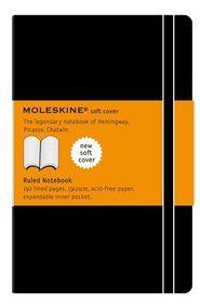 Moleskine Soft Black Large Ruled Notebook