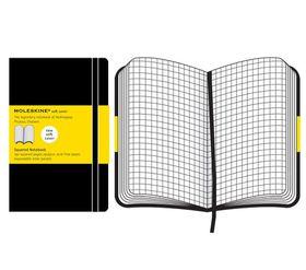 Moleskine Soft Black Extra Large Squared Notebook