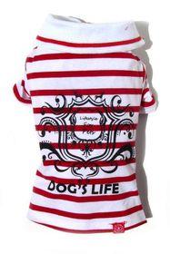 Dog's Life - Gentleman's Polo Shirt Red - 3XL