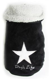 Dog's Life - Star Cape Jacket - Black - 4 x Extra-Large