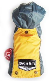 Dog's Life - Winter Rain Coat - Yellow - 5 x Extra-Large