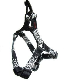 Dog's Life - Pooch Webbing Harness - Petals - Medium