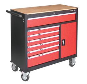 Yato - Roller Cabinet 7-Drawer and 1 Cab