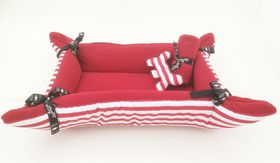 Wagworld - Puppy Cuddle Bed Pack - Red
