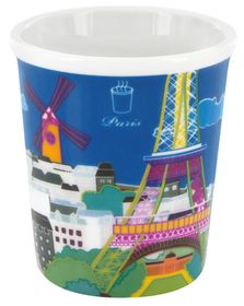 Pylones - Paris Blue Mini Cup