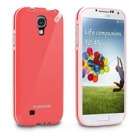 Pure Gear Samsung S4 Slim Shell - Red/Pink