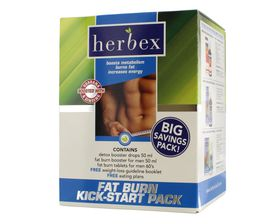 Herbex Fat Burn Kick Start Pack for Men