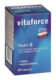 Vitaforce Nutri-B (2 Phase) Tablets - 60's