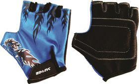 Surge Cycling Gloves Boys Blue 8