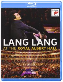 Lang Lang at The Royal Albert Hall - (Region A Import Blu-ray Disc)