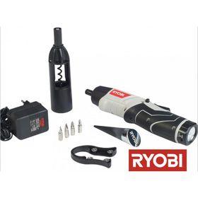 Ryobi - 3.6V Screwdriver Corkscrew Wine Opener Set