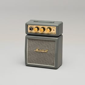 Marshall MS2C Micro Amp Series 1 Watt Portable Electric Guitar Amplifier Half Stack - Vintage Grey