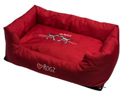 Rogz - Spice Pod Dog Bed - Red Heart Design - Medium
