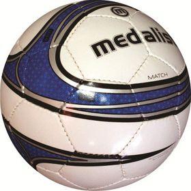Medalist Match Soccer Ball - White/Blue - Size 4