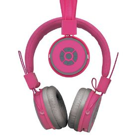 Polaroid Bluetooth Foldable Headphone with Mic - Pink