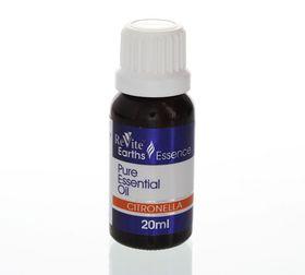 Revite Earth's Essence Citronella Oil 100% - 20ml