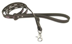 Pucci - Leather Lead - Brown - Small (112cm x 1.5cm)
